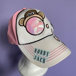 Y2K Bobby Jack Pink Baseball Hat